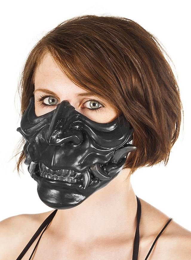Samurai mask (black)